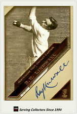 2011 Heritage Test Cricket Captains Blue Facsimile Signature #26: Ray Lindwall