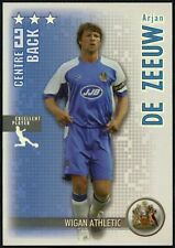 De Zeeuw Wigan Athletic Shoot Out 2006-7 Magic Box Silver Football Card (C1292)