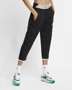Nike Sportswear Tech Fleece Cropped Pants Women's Size Small AR2946-011