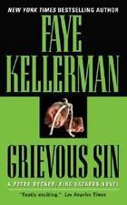 Grievous Sin (Decker/Lazarus Novels) Kellerman, Faye Mass Market Paperback
