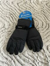 Columbia men's S weatherproof Ski Mountain Winter Snowboard Snow Gloves BLACK