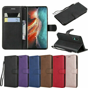 For Huawei Mate 7/8/9/20/20Lite/20X Honor 6A/6C Leather Wallet Flip Case Cover