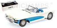 Minichamps 107147030 LA SALLE ROADSTER - 1955 - WHITE/BLUE - 1:18  #NEU in OVP#