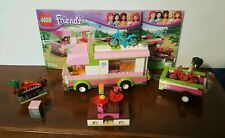 LEGO Friends Adventure Camper #3184 Set W/Instructions GUC