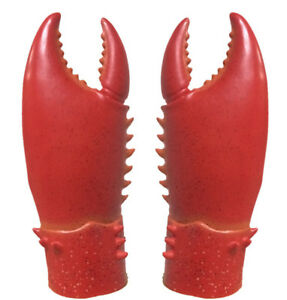 Lobster Claw Hands Gloves Costume Accessory Halloween Fancy Dress Crab Claws BBQ