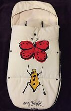 Andy Warhol Bugaboo Limited Sonderedition Bugs footmuf Stroller Blanket