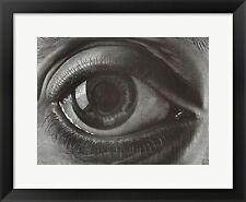 M.C. Escher,Eye, Framed W/Mat 29x25