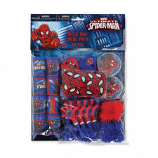 HUGE PACK 48 Spiderman Party Favours Loot Bag Fillers Super Hero Party Supplies