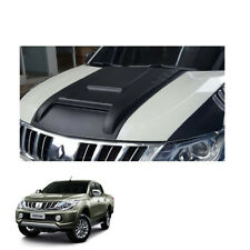 Mitsubishi L200 Triton 2015 2016 2017 fit Bonnet Hood Scoop V5 Cover Matte Black