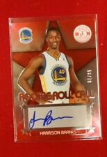 2012-13 TOTALLY CERTIFIED ROLL CALL AUTOGRAPHS  RED #11 HARRISON BARNES #'D /79