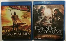 LOT 2 BLU RAY - LES 3 ROYAUMES (JOHN WOO ) + LE DERNIÈRE ROYAUME ( DANIEL LEE )