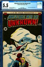 Adventures Into the Unknown #9 CGC GRADED 5.5 - Moritz cover - (1950)