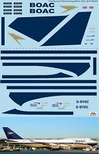 1/144  Boeing 747 BOAC Anniversary 1919 - 2019 British Airways Decals TBD402