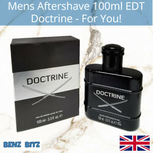 Doctrine Mens Aftershave By For You! 100ml EDT Eau De Toilette Spray