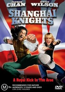 Shanghai Knights (DVD, 2004)*Jackie Chan* Owen Wilson*Terrific Condition*R4