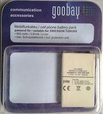 Telefonía móvil batería 66158 mp ericsson t200/202 SB