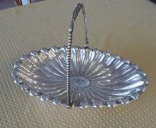 Wilcox Silverplate handled basket