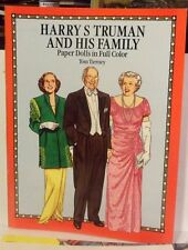 1991 Harry Truman and Family Paper Doll Book by Tom Toierney