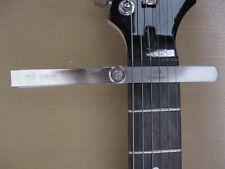 Feeler Gauge for checking guitar string-to-fret clearances & fret slot width