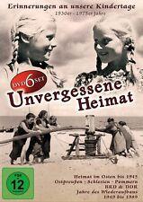 UNVERGESSENE HEIMAT bis 1945 Ostpreußen SCHLESIEN Pommern + BRD DDR 6 DVD Box