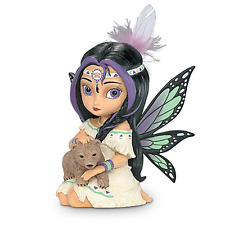 Hamilton Collection Jasmine Becket-Griffith Mystical Fairy With Bear Wildwood