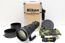 NEAR MINT Nikon ED Nikkor AF-S 400mm f/2.8 D Telephoto Lens w/ Trunk From Japan