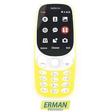 Cellulare Nokia 3310 dual sim nuovo 2017 color giallo display a colori 2mp