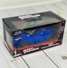 JADA Fast and Furious Brian's Nissan GT-R [R35] Ben Sopra Die Cast