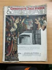 """XMAS DEC 1911 """"THE CONNOISSEUR MAGAZINE"""" ANTIQUES & ART COLLECTORS MAGAZINE (P3)"""