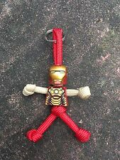 Marvel Ironman PARACORD BUDDY keyring - HAND MADE IN UK