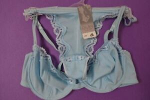 Ex Store  Blue  Bra and Thong  Sets  Sizes  34A x  34b x