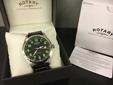 Gents Rotary Automatic Watch on Leather Strap GS00659/19  RRP.£189