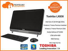 Toshiba LX830 All In One i5-3210M @2.5Ghz 4GB MEM 2TB HDD Nvidia GT630M Win 7