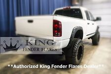 2002-2008 DODGE RAM 1500 POCKET RIVET Bolt-On KING FENDER FLARES TEXTURED