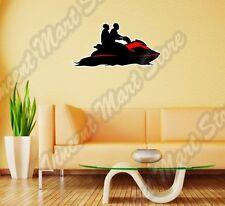 "WaveRunner Jet Ski Water Sport Sea Wall Sticker Interior Decor 25""X16"""