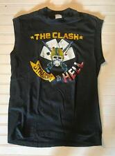 THE CLASH 1984 STRAIGHT TO HELL T-SHIRT RAMONES SEX PISTOLS ORIGINAL Rare!