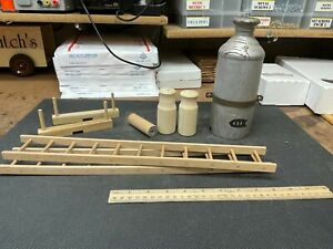 Buddy L Wooden Toy Parts Lot As Shown - Repair/Replace/Restore