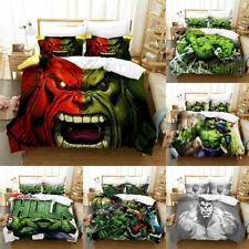 Hulk Robert Bruce 3D Printed Bedding Set 2/3PCS Duvet Cover & Pillowcase(s)