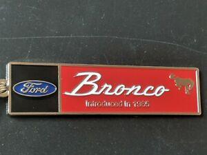Ford Bronco Tribute Keychains...(B15)