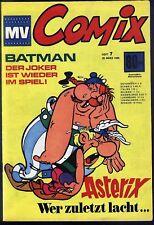 MV Comix Nr.7 vom 29.3.1969 mit Asterix, Dschungelbuch, Batman, Lois Lane - TOP