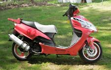 125cc Adults Gas Scooter Street Legal Rose Color Metro Rider New Ships Assembled