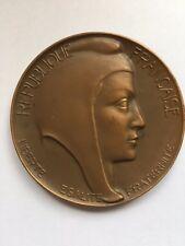 medaille en bronze Henri Dubois