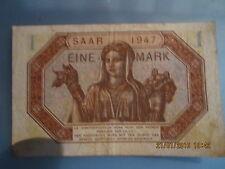 1 MARK ( SARRE) 1947