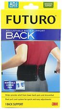 Futuro Adjustable Back Support relieve lumbar region back pain