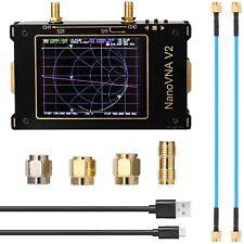 3.2'' NanoVNA V2 HF VHF UHF 50kHz-3GHz 3G Vector Network Analyzer Antenna SAA-2