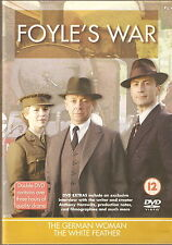 FOYLE'S WAR - THE GERMAN WOMAN / THE WHITE FEATHER. Michael Kitchen (2xDVD SET)