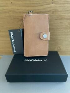 BMW Motorrad Brown Roadster Leather Mobile Phone Case Cover 76868552716