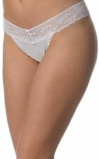 JTOne White Mesh G-String Faishion Panties - Size 14
