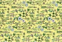 Lecien memoire a paris Quilting Cotton yellow 82081650  fabric