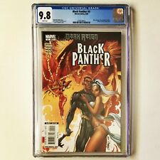 BLACK PANTHER # 5 CGC 9.8 SHURI becomes BLACK PANTHER  2009 Marvel JUST GRADED